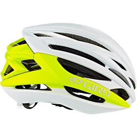 Giro Syntax Kask rowerowy, matte citron/white